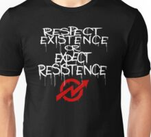 resistance white and red Unisex T-Shirt