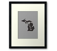 Michigan - My home state Framed Print