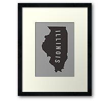Illinois - My home state Framed Print