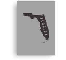 Florida - My home state Canvas Print