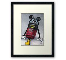 M2M2 (R2D2) Framed Print