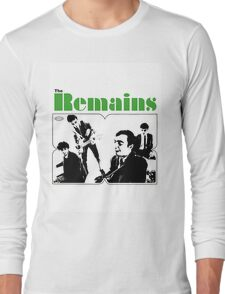 THE REMAINS 60S PUNK POWERPOP NUGGETS COOL T-SHIRT Long Sleeve T-Shirt