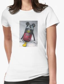 M2M2 (R2D2) Womens Fitted T-Shirt