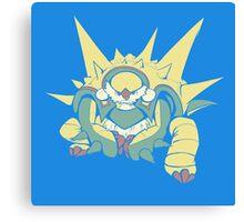Spikey Shield_Pop Canvas Print