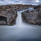 Aldeyjarfoss Waterfall by charlottegoss