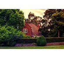 The Brick House around the corner Photographic Print
