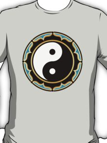 Yin Yang Lotus T-Shirt