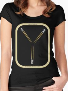 Flux Capacitor...Fluxing Women's Fitted Scoop T-Shirt