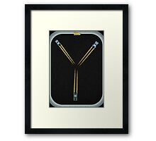 Flux Capacitor...Fluxing Framed Print