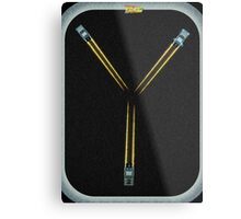 Flux Capacitor...Fluxing Metal Print