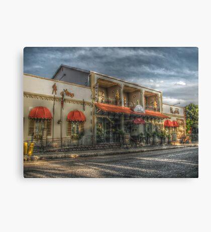 Painterly Hotel Canvas Print