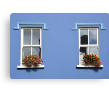 Windows in Dingle - Ireland Canvas Print