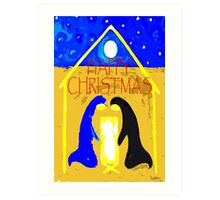 HAPPY CHRISTMAS 55 Art Print