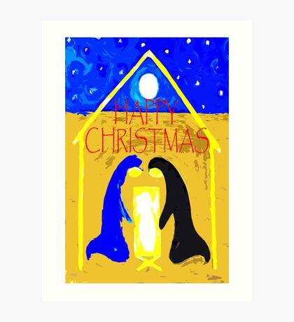 HAPPY CHRISTMAS 55 Art Print