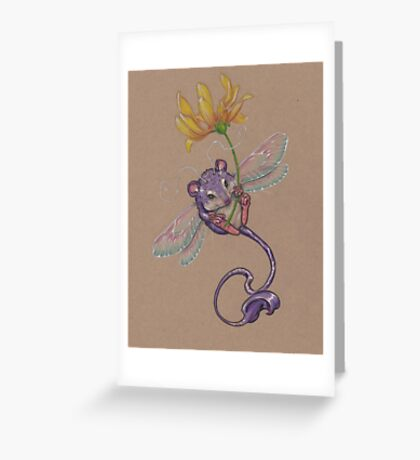 Happy Little Spring Fling Greeting Card