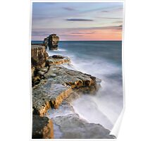 Sunset at Pulpit Rock Poster