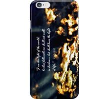 I-am-the-Light-of-the-World iPhone Case/Skin