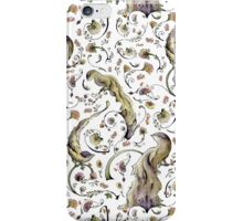 Feathers and Flowers Pattern iPhone Case/Skin