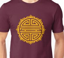 Shou Lotus , Chinese good luck charm, long life Unisex T-Shirt