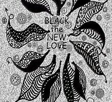 BLACK the new LOVE by James Lewis Hamilton