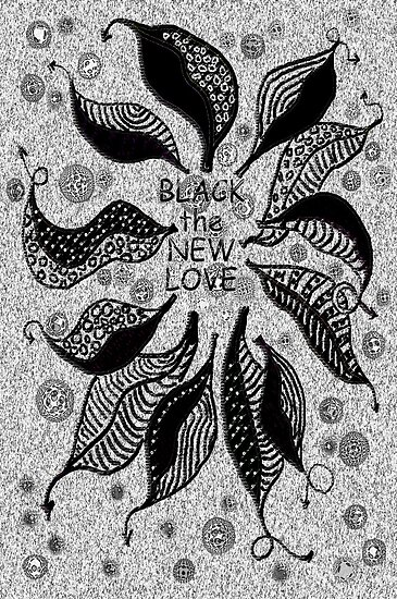 BLACK the new LOVE * by James Lewis Hamilton