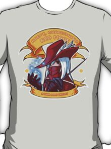 Adept, Charismatic Red Mage T-Shirt