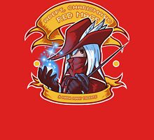 Adept, Charismatic Red Mage Unisex T-Shirt