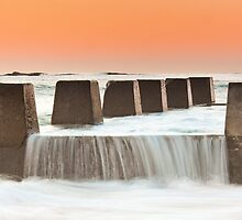 """Battlements"" - Coogee Beach, NSW by Andrew Kerr"