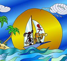 Plushy Pirates version 3 by Clayton Colgin
