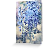 Wisteria Dreams at Twilight Greeting Card