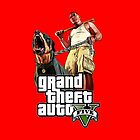 Grand Theft Auto 5 Gangster Case Red by Bergmandesign