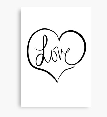 Love Forever Canvas Print