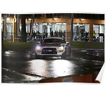 Targa Adelaide 2013 Wayville Night Stage - Car 997 Poster