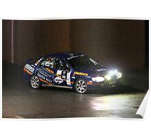 Targa Adelaide 2013 Wayville Night Stage - Car 85 Poster