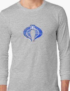 Cobra ice logo Long Sleeve T-Shirt
