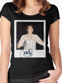 Noah Lennox Polaroid Women's Fitted Scoop T-Shirt