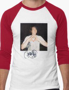 Noah Lennox Polaroid Men's Baseball ¾ T-Shirt