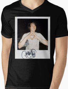 Noah Lennox Polaroid Mens V-Neck T-Shirt