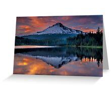Mt Hood Greeting Card
