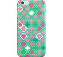 Girly Moroccan Lattice Pattern iPhone Case/Skin