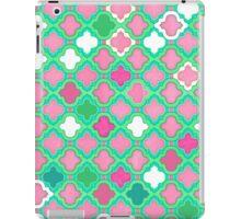 Girly Moroccan Lattice Pattern iPad Case/Skin