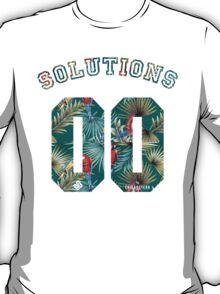 99 problems? 00 solutions! *Parrot Floral* T-Shirt