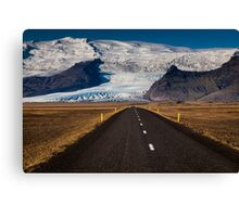 Rush Hour, Route One, Iceland Canvas Print