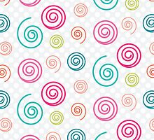 Colorful Swirls by kwg2200