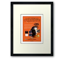 'A Clockwork Orange: The Videogame' Vintage Game Advert Framed Print