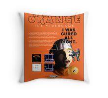 'A Clockwork Orange: The Videogame' Vintage Game Advert Throw Pillow