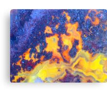 New Fire, New Ice (Lace Agate) Canvas Print
