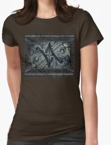 The stone wolves Womens Fitted T-Shirt