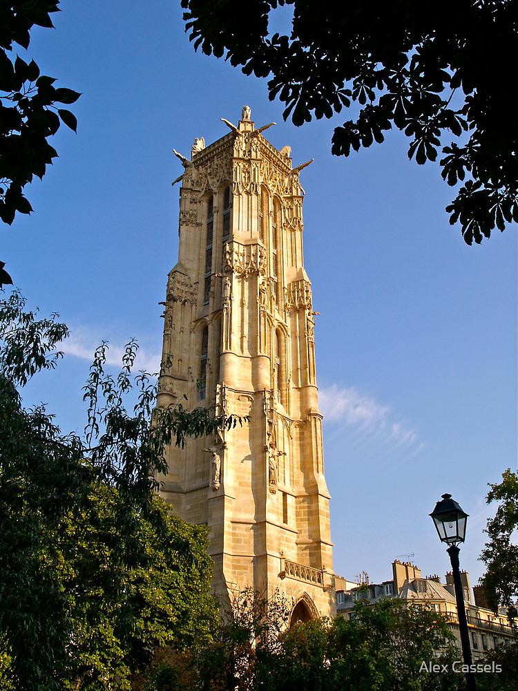 La Tour Saint-Jacques by Alex Cassels