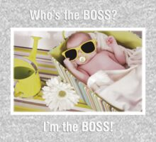 ' I'm the BOSS ' Baby Tshirts Kids Clothes
